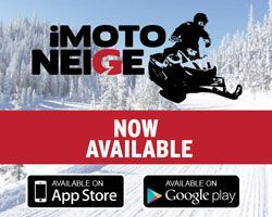 Imotoneige, the ultimate application for snowmobilers!