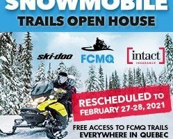 Snowmobile Trails Open House event Rescheduled to February 27-28th 2021