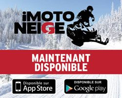 Imotoneige, l'application indispensable des motoneigistes!